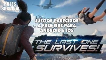 9 juegos parecidos a Free Fire para celulares Android e iOS