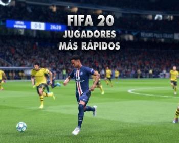 ¡Los 50 jugadores más rápidos de FIFA 20!