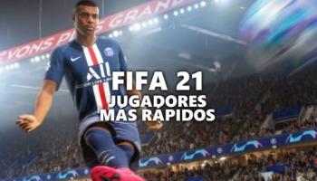 Los jugadores más rápidos de FIFA 21