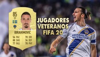 Los 30 mejores jugadores veteranos de FIFA 20