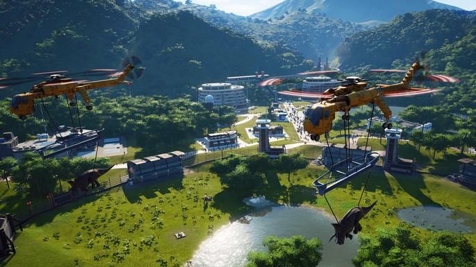 Jurassic World Evolution - Juegos de simulación para PC