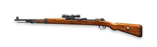 KAR98K Rifles de francotirador Free Fire