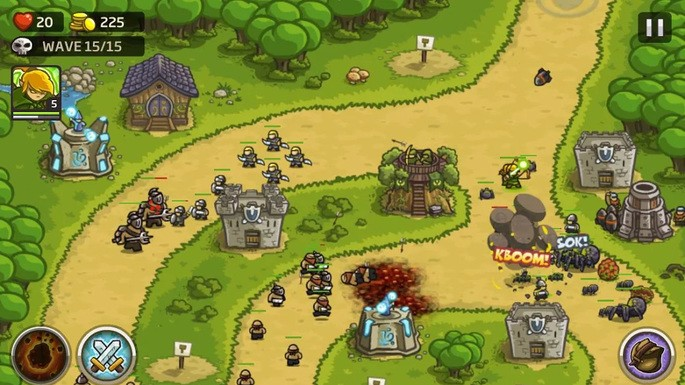 Kingdom Rush - Juegos para Android sin Internet