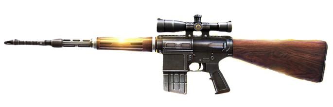 KingFisher rifle de asalto Free Fire