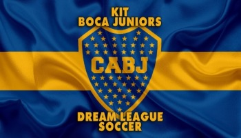 Kit de Boca Juniors para Dream League Soccer en la temporada 2019/2020