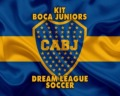 Kit de Boca Juniors para Dream League Soccer en la temporada 2020/2021