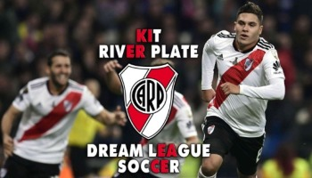 Kit de River Plate para Dream League Soccer en la temporada 2019/2020