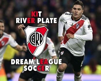 Kit de River Plate para Dream League Soccer en la temporada 2019/2020