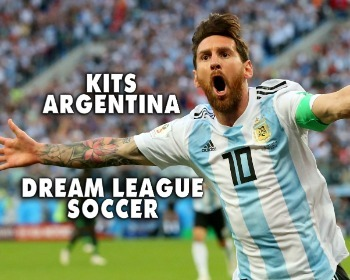 Kits del equipo de Argentina para Dream League Soccer