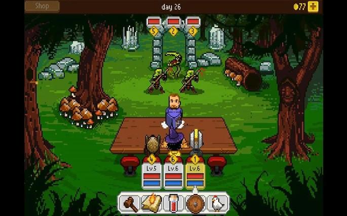 Knights of Pen & Paper +1 - Juegos para Android sin Internet