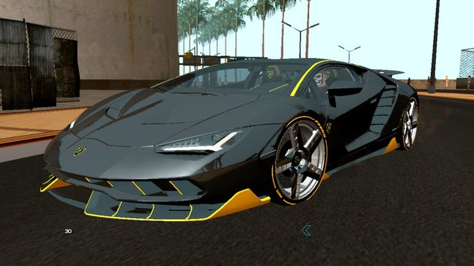 Lamborghini Centenario LP770-4 GTA San Andreas mod android
