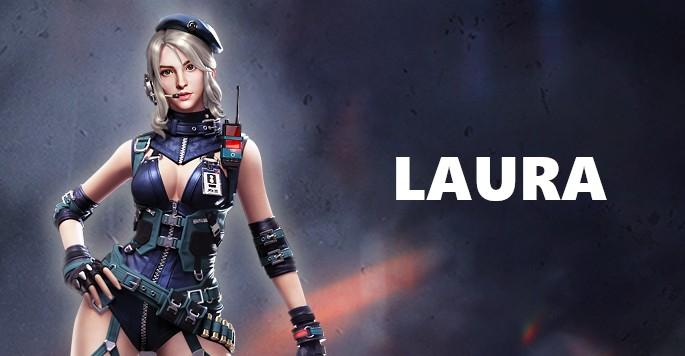 Laura - Mujeres de Free Fire