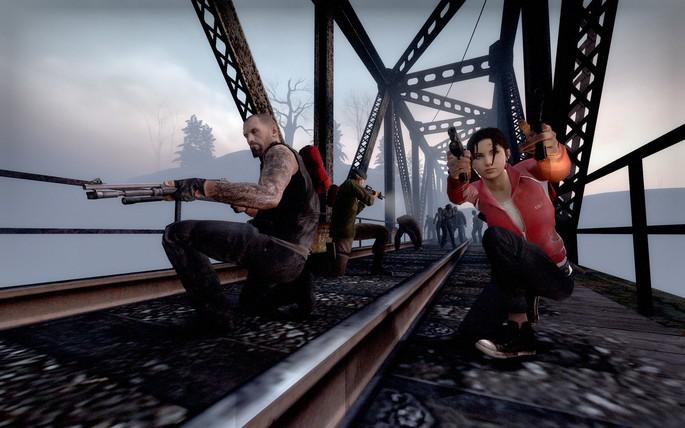 Juegos de tiros para PC con pocos requisitos: Left 4 Dead