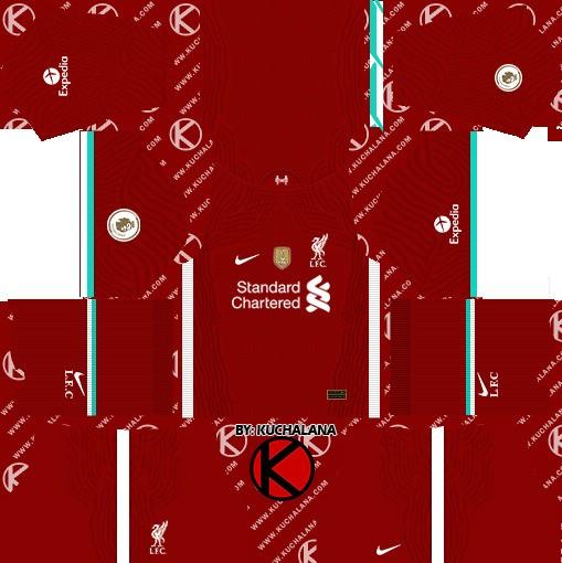 Liverpool Dream League Soccer Kit