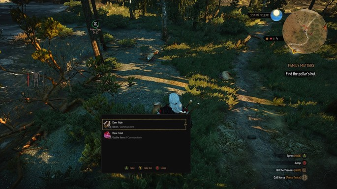 Loot automático The Witcher 3 mods