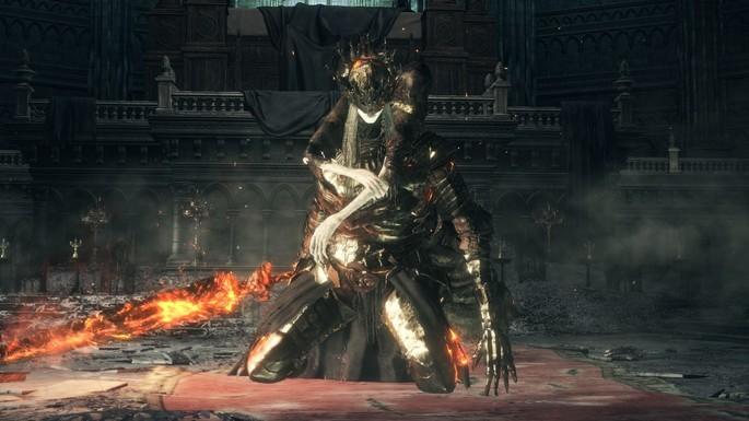 Lorian Príncipe Anciano y Lothric joven príncipe - Dark Souls 3 Bosses