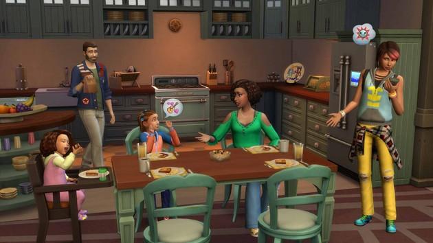 Los Sims 4 - Papás y Mamás