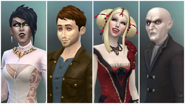Los Sims 4 - Vampiros