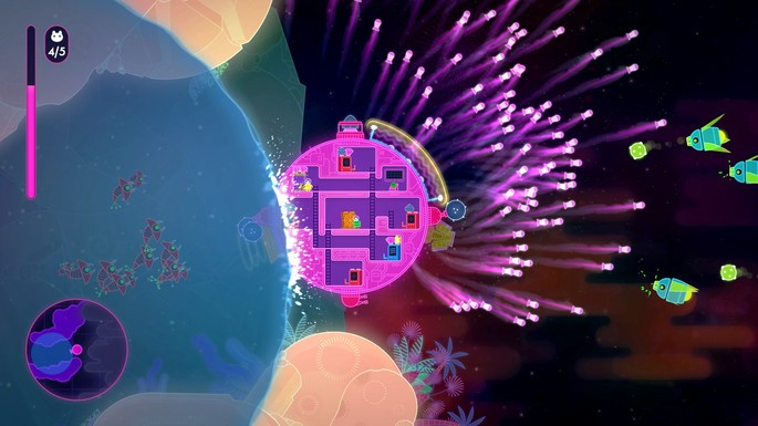 Lovers in a Dangerous Spacetime - Juegos multijugador local PC