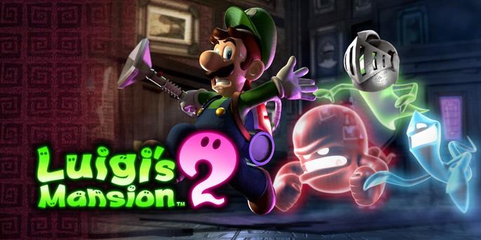Luigis Mansion 2 Dark Moon - Mejores juegos 3DS