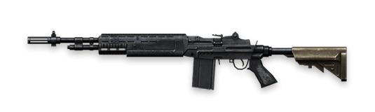 M14 - Free Fire - Ametralladora