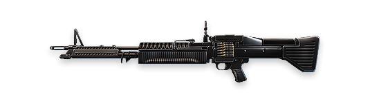 M60 - Free Fire - Ametralladora pesada