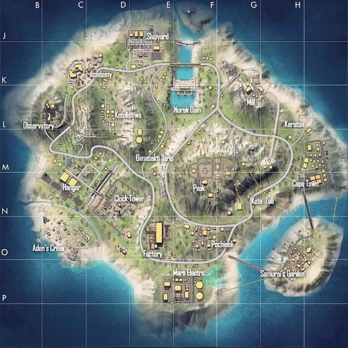 Mapa Bermuda remasterizado