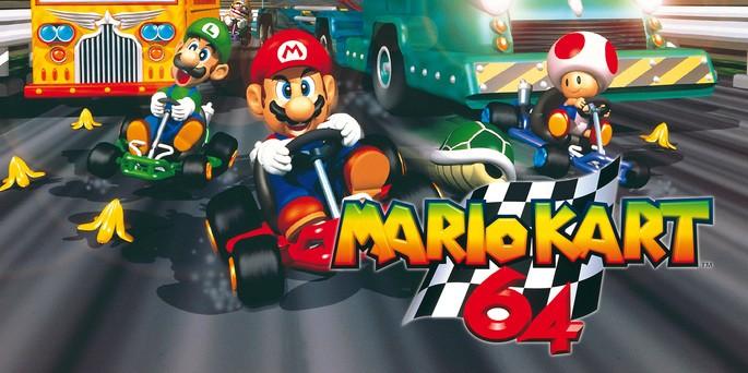 Mario Kart 64 - Mejores juegos de la Nintendo 64