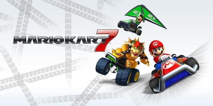 Mario Kart 7 - Mejores juegos 3DS