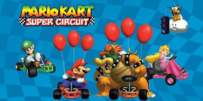 Mario Kart: Super Circuit - Mejores juegos GBA