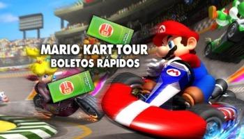 Mario Kart Tour: qué es el boleto rápido y cómo conseguirlo