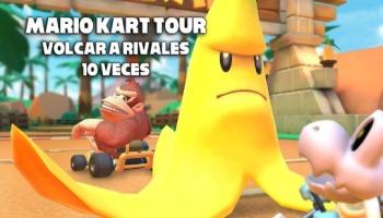 Mario Kart Tour: hacer volcar a rivales 10 veces