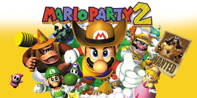 Mario Party 2 - Mejores juegos de la Nintendo 64