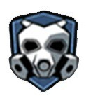 Máscara táctica - Ventaja azul - Call of Duty Mobile