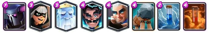 Mazo 1 Arena 14 Clash Royale