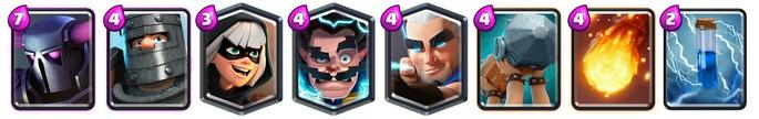 Mazo 8 Arena 13 Clash Royale