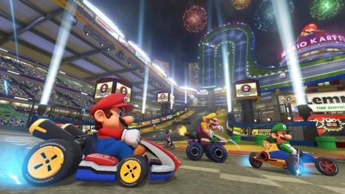 Mecánicas Mario Kart Tour