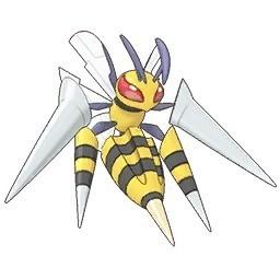 Mega evoluciones de Pokémon GO - Mega Beedrill