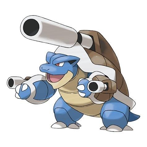 Mega evoluciones de Pokémon GO - Mega Blastoise