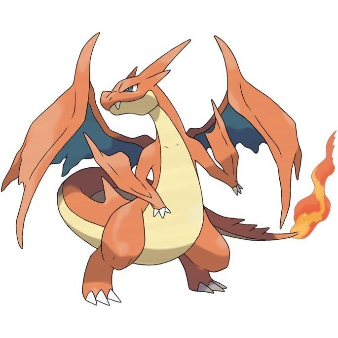 Mega evoluciones de Pokémon GO - Mega Charizard Y
