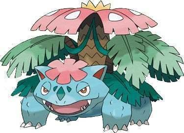 Mega evoluciones de Pokémon GO - Mega Venusaur