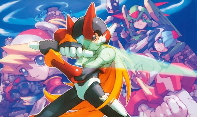 Mega Man Zero - Mejores juegos GBA