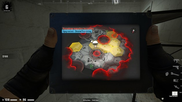 CSGO Danger Zone mejorar la tablet