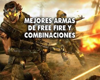 Las mejores armas de Free Fire y combinaciones recomendadas