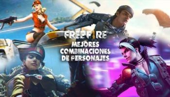 Descubre las mejores combinaciones de personajes en Free Fire