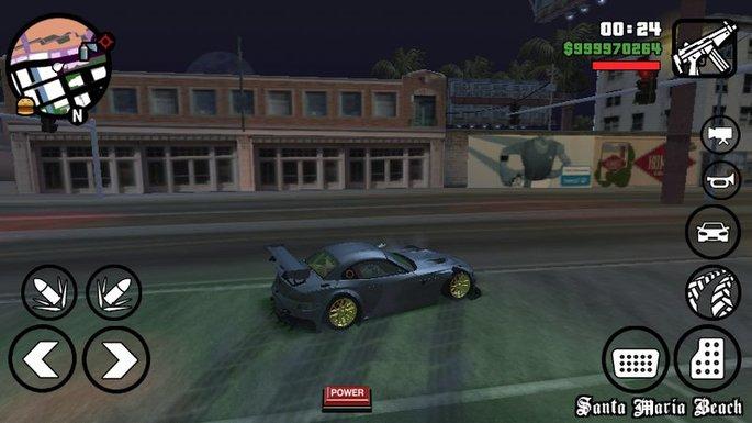 Mejores derrapes GTA San Andreas mod Android