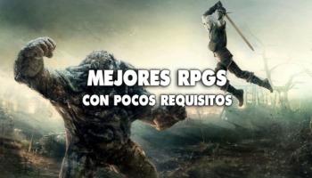 ¡Los mejores 12 RPGs para PC con pocos requisitos!