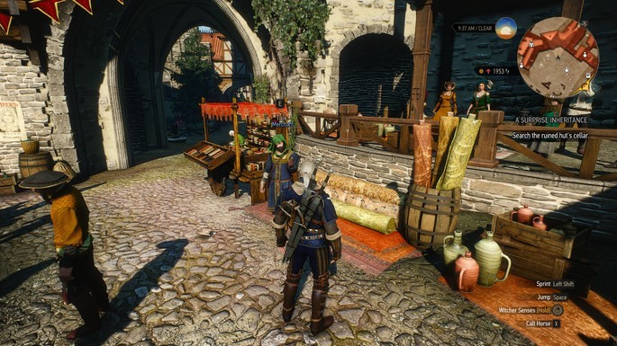 Mercaderes más ricos The Witcher 3 mods