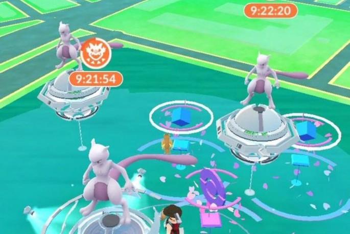 Mewtwo Jefe Incursión EX Pokémon GO