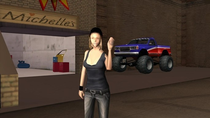 Michelle Cannes - Novias de CJ GTA San Andreas